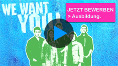 Ausbildung - We want you